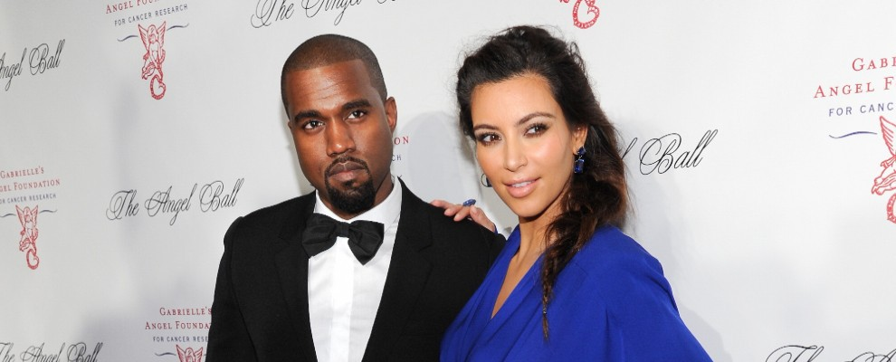 Kim Kardashian e Kanye West sposi a Firenze