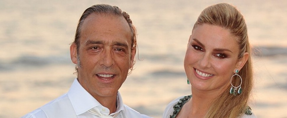 Il Matrimonio Di Luca Ward In Bianco Sulla Spiaggia Di Fregene Tvzap