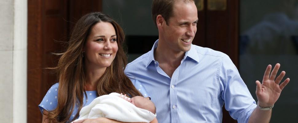 George, principe di Cambridge: svelato il nome del royal baby