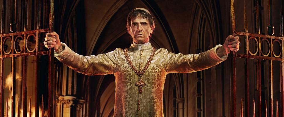 I Borgia,  Jeremy Irons è Papa Alessandro VI