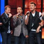 """I Backstreet Boys sul palco della finale di """"Io canto"""""""