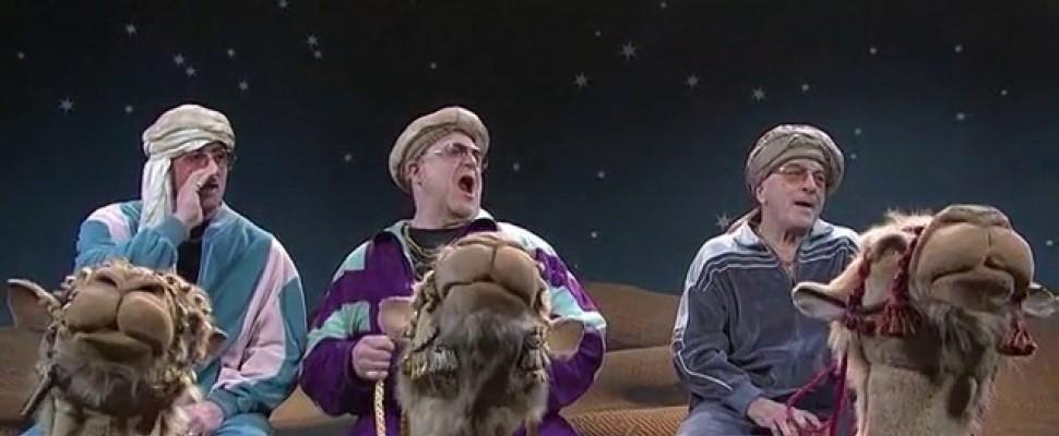 SNL: Stallone, De Niro e Goodman, se i Re Magi arrivano dalla East Coast