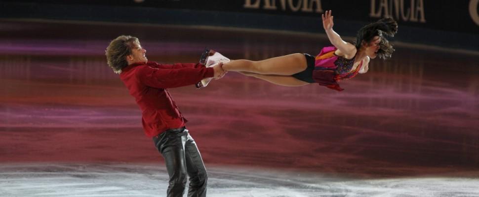 Capodanno on Ice: la Chiabotto illumina le stelle del pattinaggio invernale