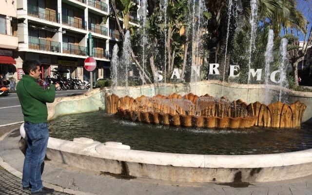Sanremo 2014, Pif il Testimone a caccia nella città dei Fiori