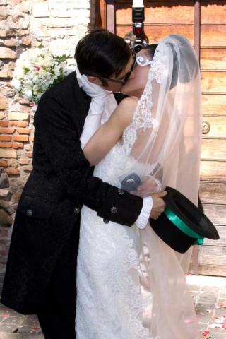 Le nozze di Greg, le foto del matrimonio yankee di Claudio Gregori