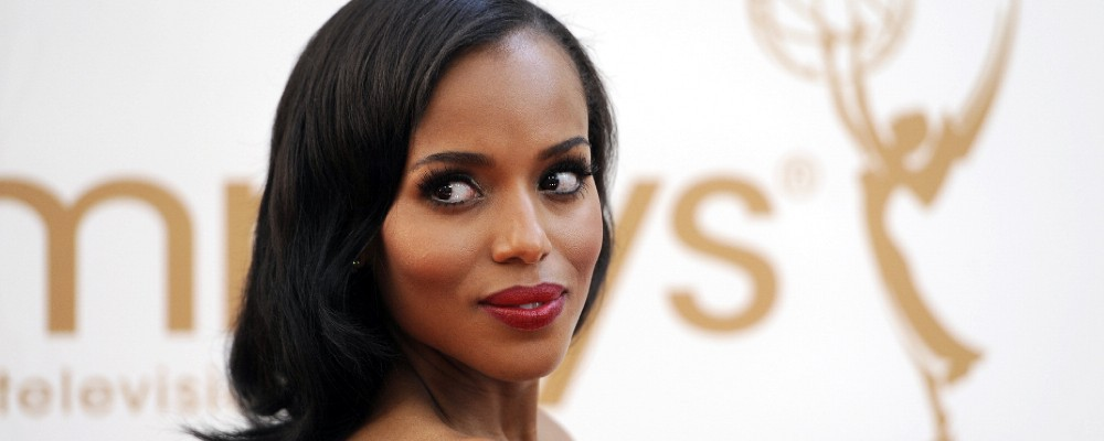 Scandal, Kerry Washington: 'Le mie icone? Julie Andrews e Barbra Streisand'