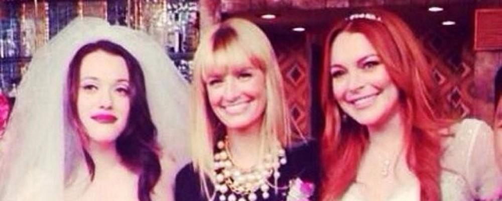 Lindsay Lohan smemorata: il pubblico di 2 Broke Girls si indigna