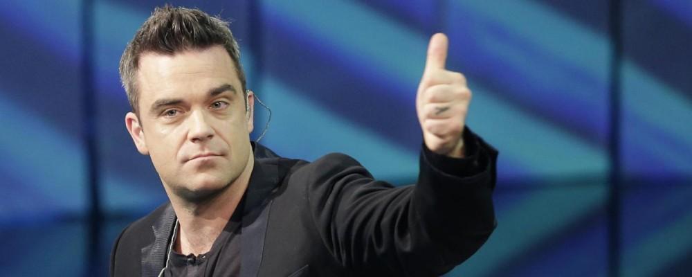 Robbie Williams, ritorno super sexy grazie alla dieta vegana