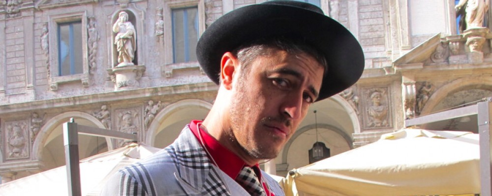 Il Testimone, Pif alla settimana della moda di Milano