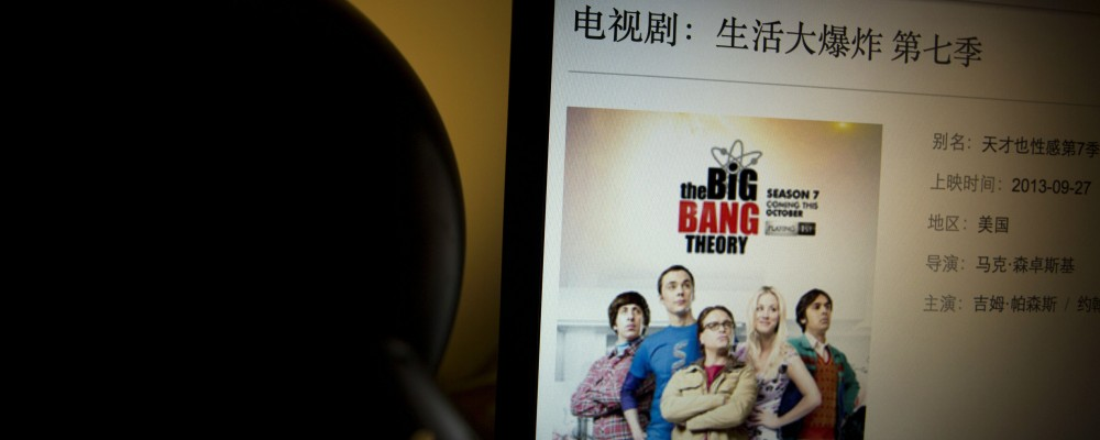The Big Bang Theory censurato in Cina