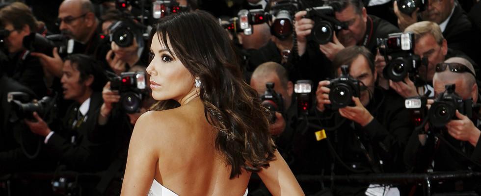 Cannes67: Eva Longoria sul red carpet del Festival di Cannes