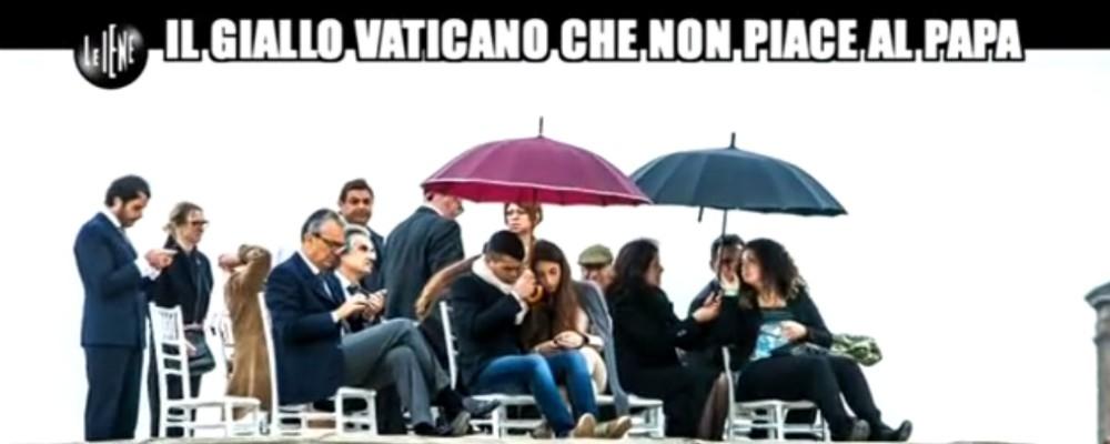 Le iene il buffet sul tetto del vaticano sponsor per i - Le finestre sul vaticano ...