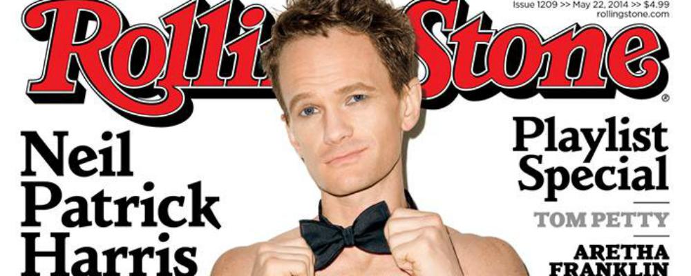 Neil Patrick Harris, nudo sulla copertina di Rolling Stone