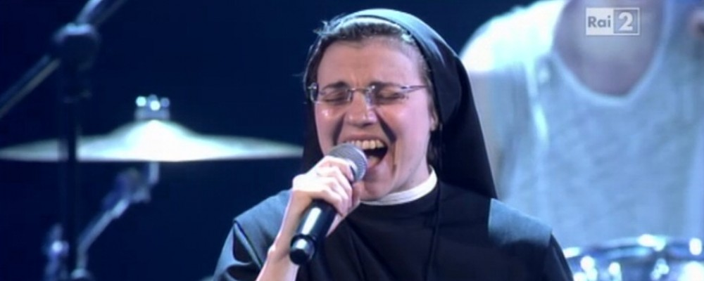 Niente Sanremo per Suor Cristina: le Orsoline dicono no