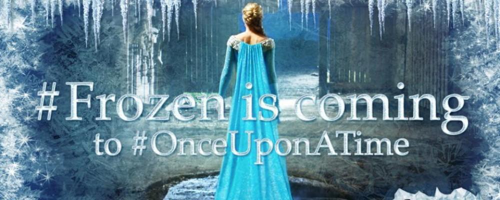 C'era una volta: arriva Elsa direttamente da Frozen
