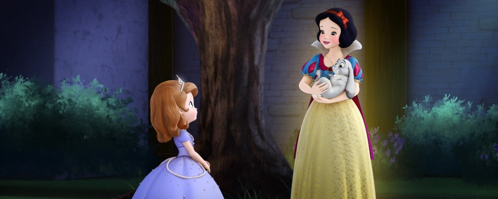La principessa Sofia incontra Biancaneve