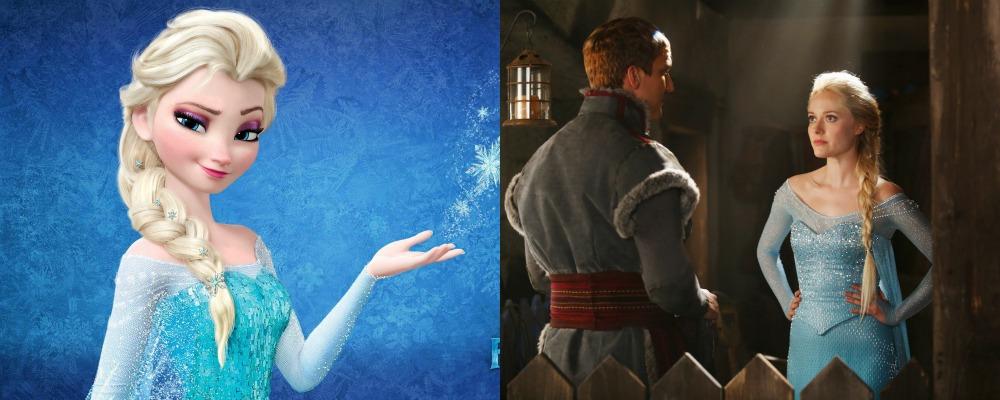 C'era una volta: ecco Elsa, in carne e ghiaccio, direttamente da Frozen