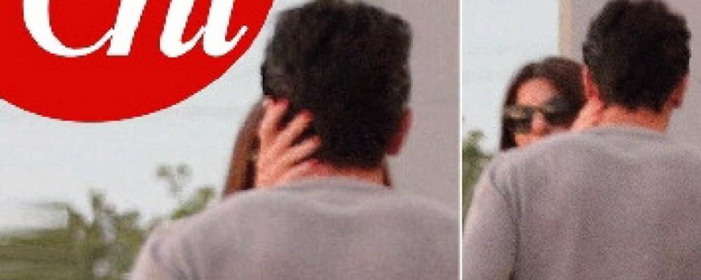 Ilaria D'Amico e Gigi Buffon allo scoperto: il bacio rivelatore