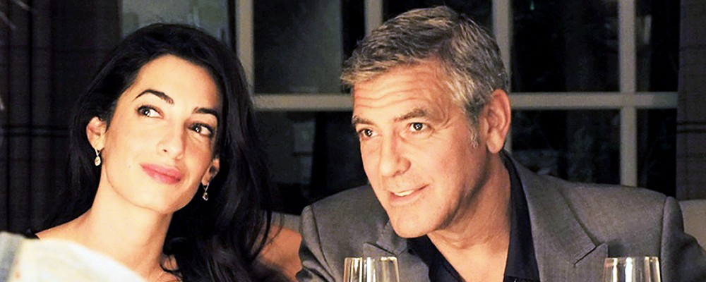 Anche George Clooney non è perfetto: per la futura suocera non è druso