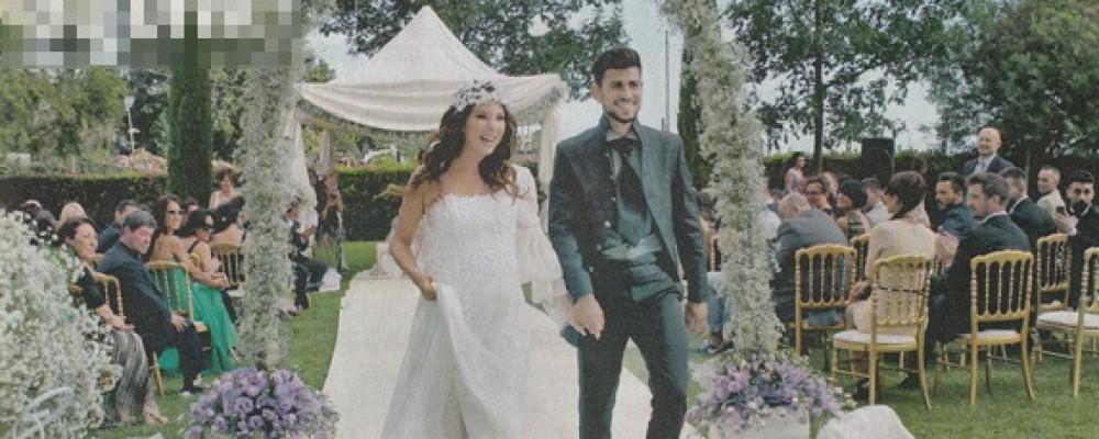 Micol Olivieri, l'Alice dei Cesaroni, ha detto sì: sposa felice con pancione
