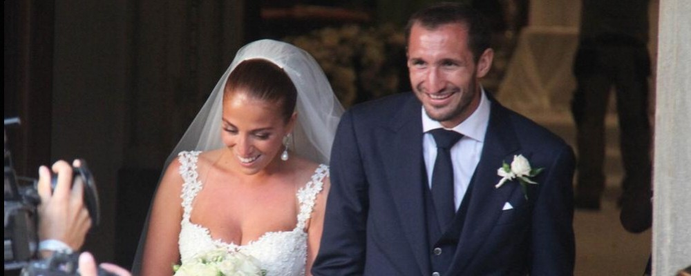 Giorgio Chiellini si è sposato