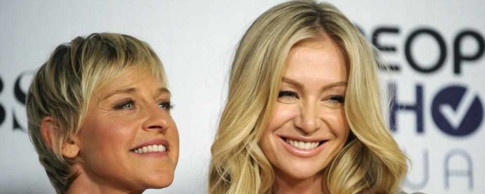 Ellen DeGeneres e Portia De Rossi: l'amore scritto nel cielo
