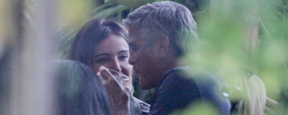 George Clooney e  Amal Alamuddin: tenerezza sospette. Cicogna in arrivo?