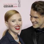 Scarlett Johansson si separa dopo due anni da Romain Dauriac