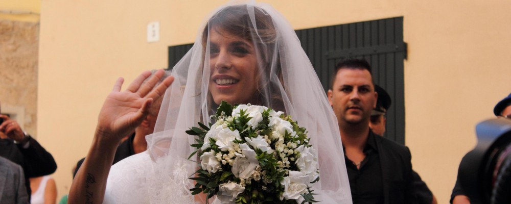 A Verissimo in esclusiva il filmato del matrimonio di Elisabetta Canalis