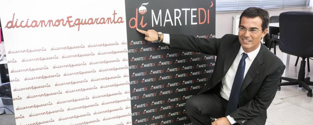 Giovanni Floris: diMartedì con la squadra di Ballarò compreso Maurizio Crozza