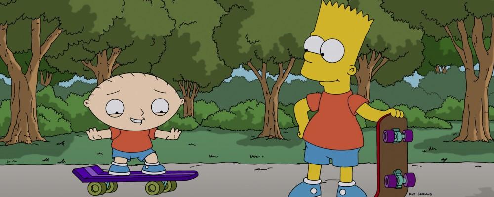 I Simpson e i Griffin un crossover eccessivo con lo scherzo 'Ho violentato tua sorella'