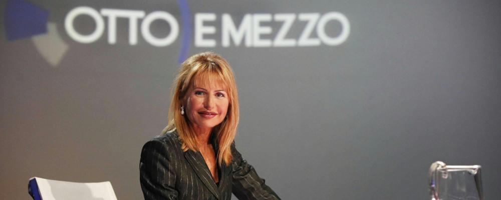 Lilli Gruber torna al comando di Otto e Mezzo: Matteo Renzi primo ospite