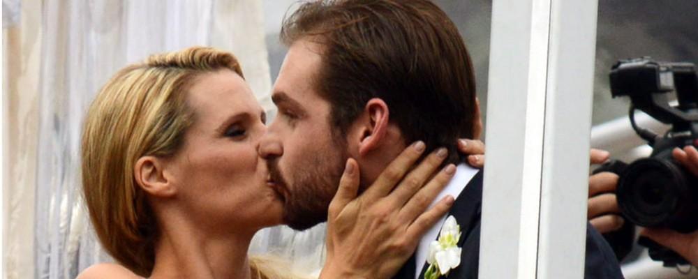 Michelle Hunziker e Tomaso Trussardi, matrimonio a Bergamo ricco di emozioni (e di ospiti)