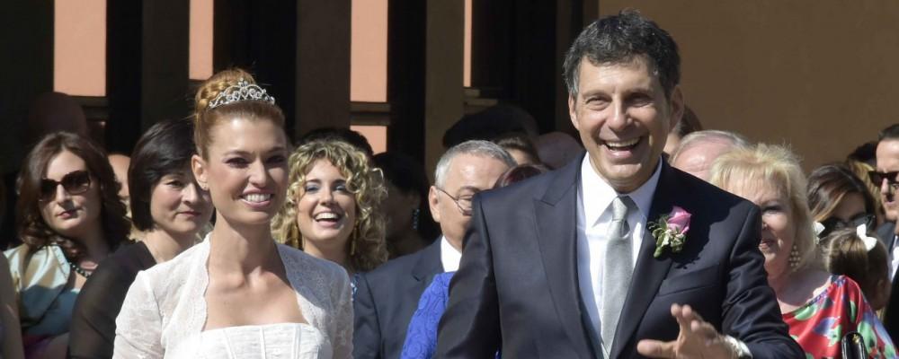 Fatidico sì per Fabrizio Frizzi: ha sposato Carlotta Mantovan