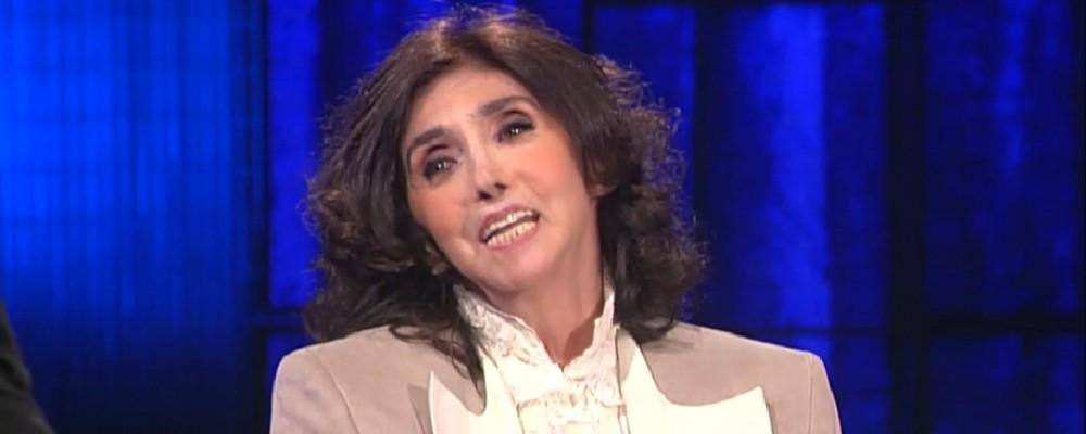 Anna Marchesini da Fabio Fazio, il ritorno in teatro nonostante la malattia
