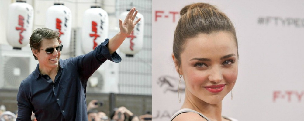 Tom Cruise e Miranda Kerr nuova coppia di Hollywood?
