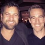 Dawson's Creek, James Van Der Beek e Joshua Jackson per un selfie amarcord