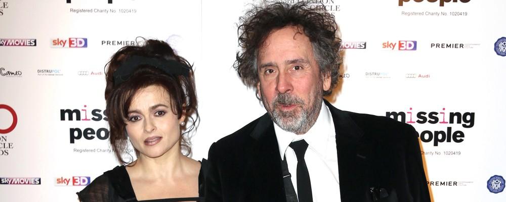 Addio senza traumi tra il regista Tim Burton e l'attrice Helena Bonham Carter