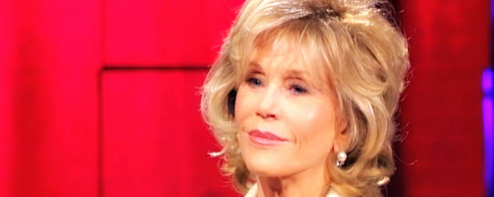 """Jane Fonda a Che tempo che fa: """"Sesso? L'importante è la sensualità"""""""
