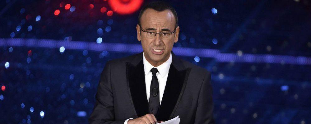 """Sanremo, Carlo Conti: """"Felice per la presenza di Laura Pausini, ma vi svelo un retroscena"""""""