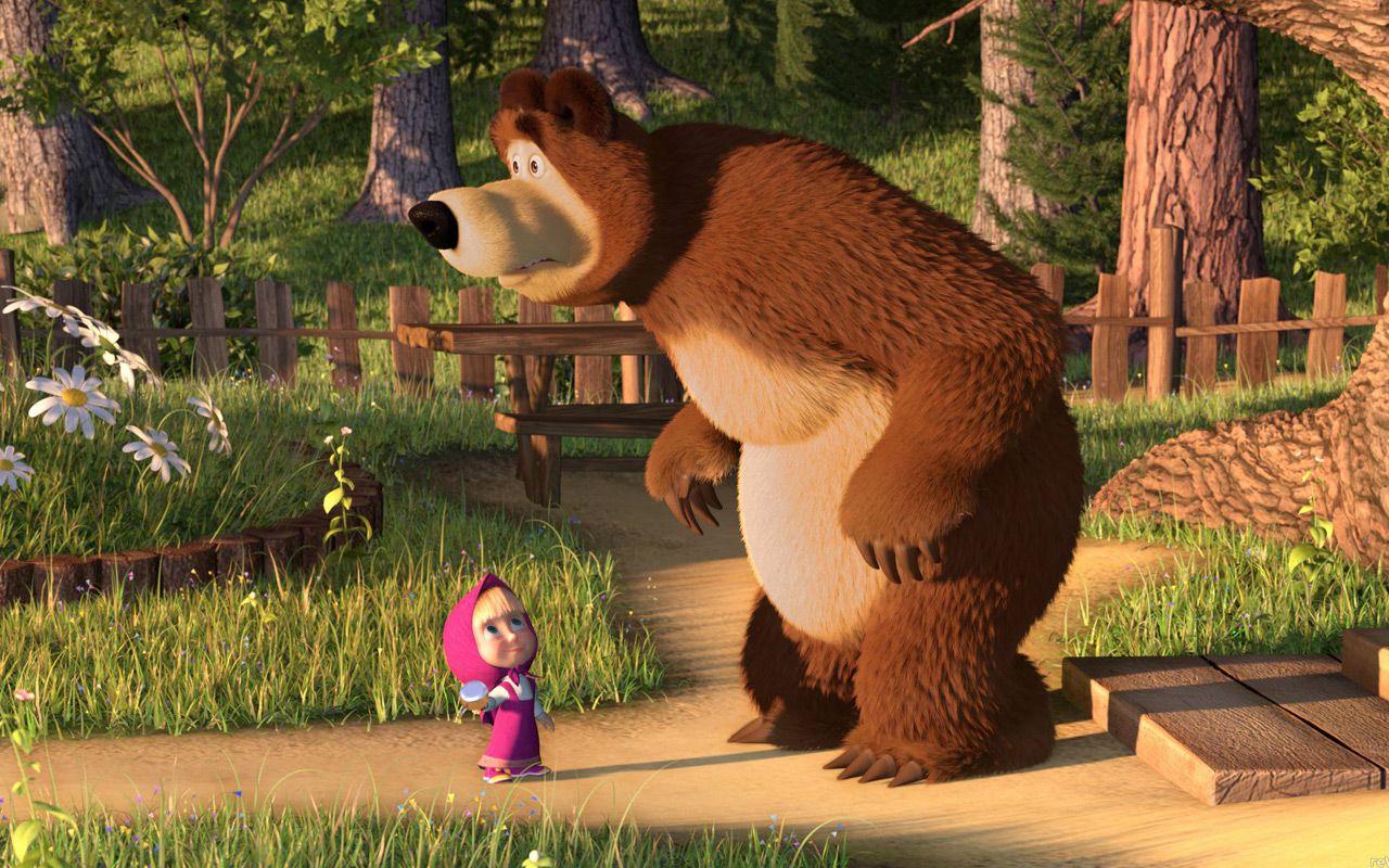 Masha e orso avanza su rai yo yo il cartoon che arriva dalla russia