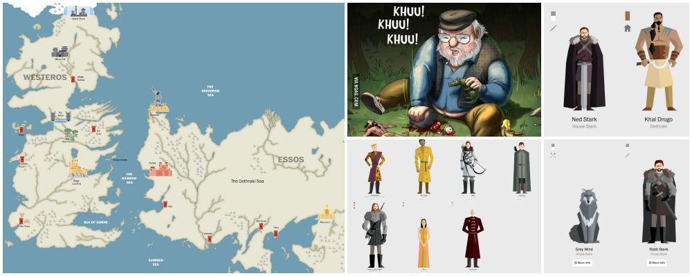 Game of Thrones, tutti i morti delle prime 4 stagioni: l'infografica