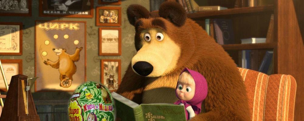 Mascia e orso episodi auguri di masha e orso