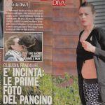 Claudia Pandolfi in attesa del secondo figlio