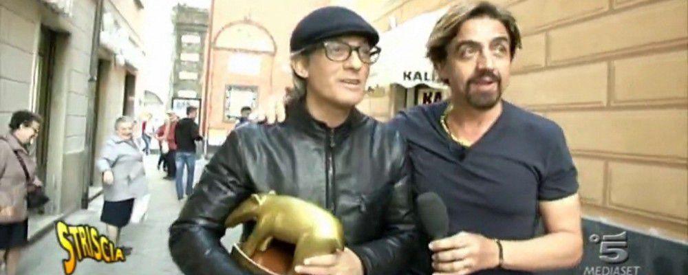 Tapiro d'oro a Fiorello per la polemica con Vittorio Sgarbi e Maurizio Costanzo