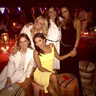 Spice Girls (quasi) al completo per i 40 anni di Beckham