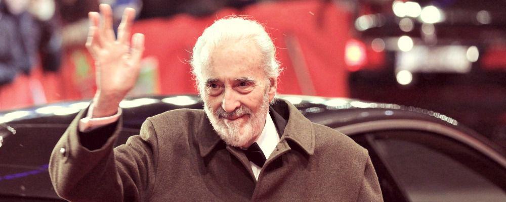 Sir Christopher Lee, è morto a 93 anni il volto di Saruman  e Dracula