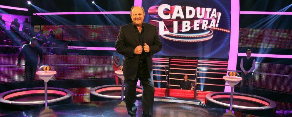 Caduta libera... Molto speciale: Gerry Scotti al posto di Gabriel Garko mercoledì 23 marzo