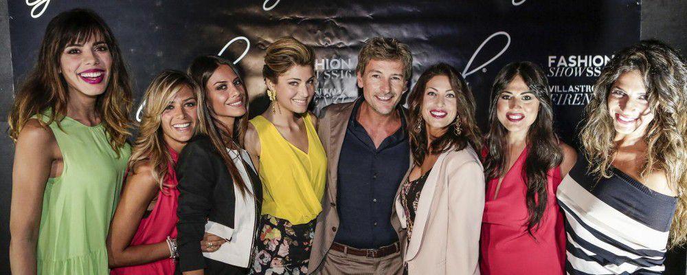 Roberto Farnesi and friends il bello della tv incontra la moda