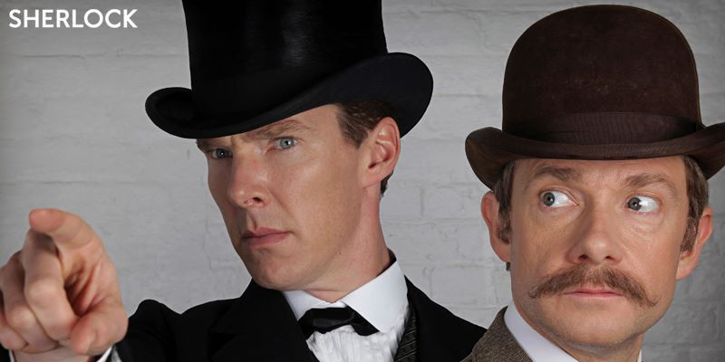 Sherlock, la prima clip dello Speciale Natale: Holmes e Watson in abiti vittoriani